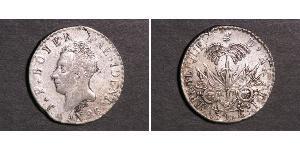 50 Centime Haiti Silver