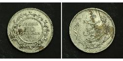 50 Centime  Silver