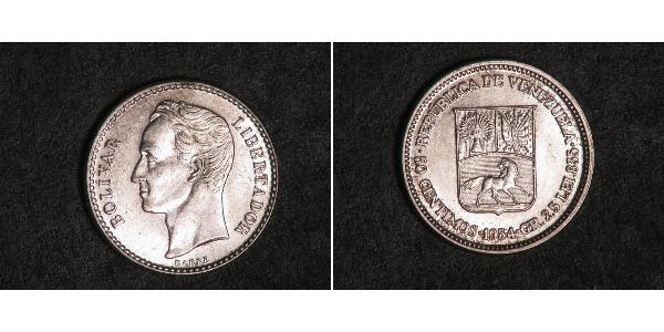 50 Centimo Venezuela 镍
