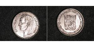 50 Centimo Venezuela Nickel