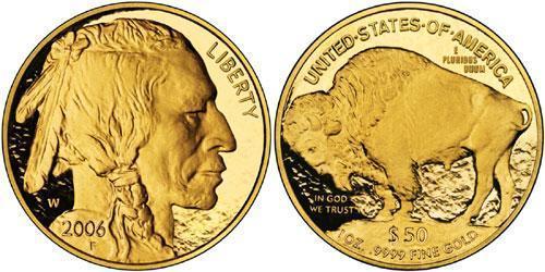 50 Dólar Estados Unidos de América (1776 - ) Oro