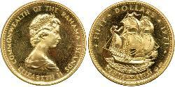 50 Dollar Bahamas Gold Elizabeth II (1926-)