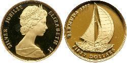 50 Dollar Bermuda Gold Elizabeth II (1926-)