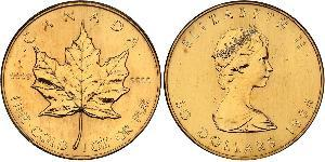 50 Dollar 1989 Canada Gold Elizabeth Ii 1926 Prices Values Km