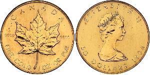 50 Dollar Kanada Gold Elizabeth II (1926-)