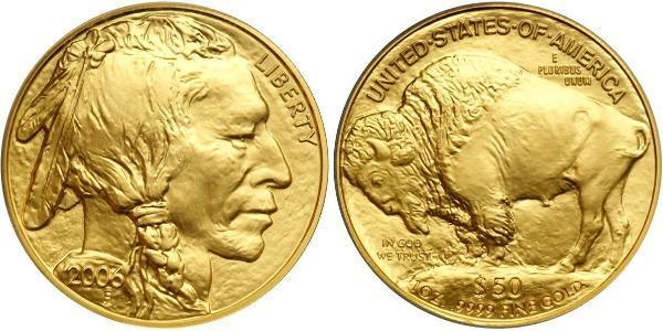 50 Dollar USA (1776 - ) Gold