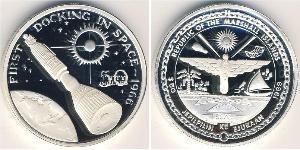 50 Dollar Marshall Islands Silver
