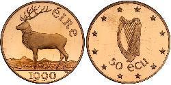 50 Ecu Irland (1922 - ) Gold