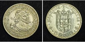 50 Escudo Estado Nuevo (Portugal) (1933 - 1974) Plata