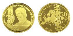 50 Euro Belgium Gold