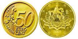 50 Eurocent Italy Tin/Aluminium/Copper/Zinc