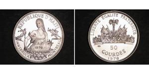 50 Gourde Haiti Silver