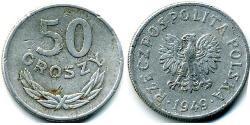 50 Grosh Poland Aluminium