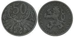 50 Heller Bohemia Zinc