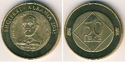 50 Lek Albanien Bronze