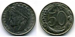 50 Lira 意大利 銅/镍