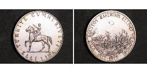 50 Lira Turquía (1923 - ) Plata