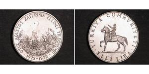 50 Lira Türkei (1923 - ) Silber