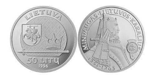 50 Litas 立陶宛 銀