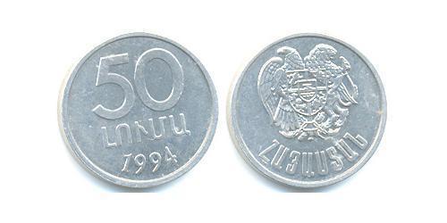 50 Luma Armenia (1991 - ) Aluminium
