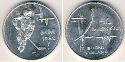 50 Mark Finnland (1917 - ) Silber