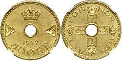 50 Ore Norway Brass/Nickel