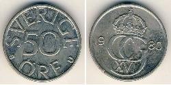50 Ore Sweden Copper/Nickel
