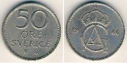 50 Ore Sweden Copper/Nickel