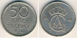 50 Ore Schweden Kupfer/Nickel
