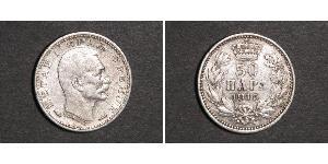 50 Para Serbia Plata