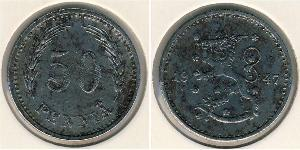50 Penny Finland (1917 - ) Copper/Nickel