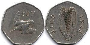 50 Penny Ireland (1922 - )