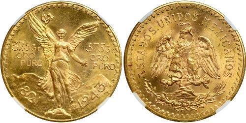 50 Peso 墨西哥 金