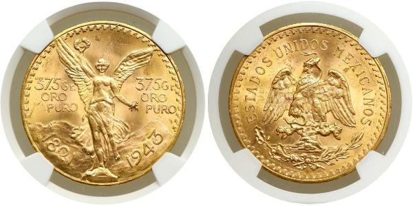50 Peso Mexique (1867 - ) Or