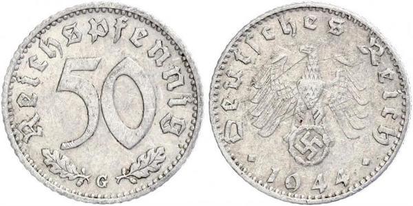 50 Pfennig Allemagne Aluminium
