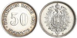 50 Pfennig 德国