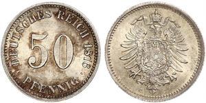 50 Pfennig Alemania