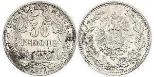50 Pfennig German Empire (1871-1918)