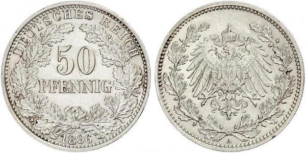 50 Pfennig German Empire (1871-1918)