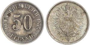 50 Pfennig Germania