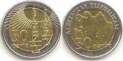 50 Qəpik Aserbaidschan (1991 - )