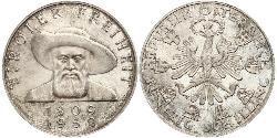 50 Shilling Republic of Austria (1955 - ) Argento