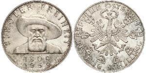 50 Shilling Republic of Austria (1955 - ) Plata