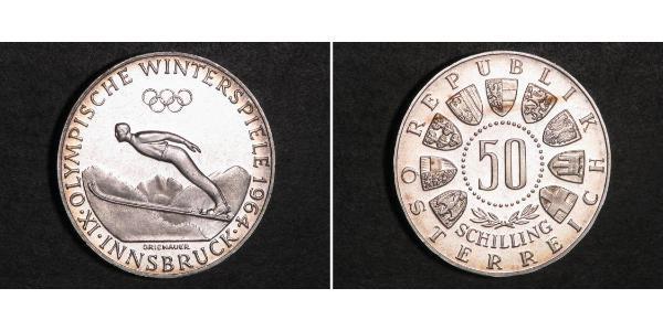50 Shilling Österreich / Republik Österreich (1955 - ) Silber