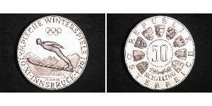 50 Shilling Austria  / Republic of Austria (1955 - ) Silver