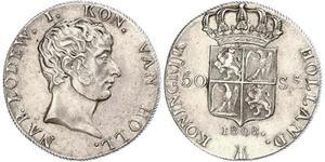 50 Stuiver Netherlands Silver