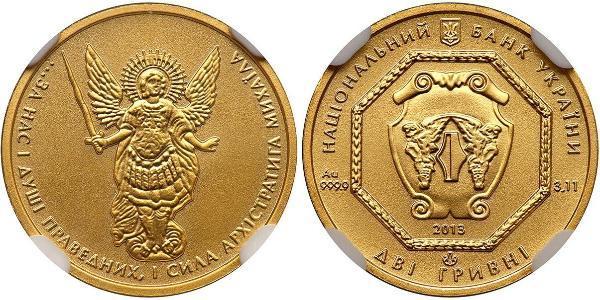 5 Гривна Украина (1991 - ) Золото