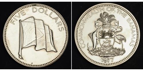 5 Долар Багамські о-ви Нікель/Мідь