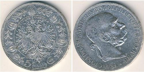 5 Крона Австрія Срібло