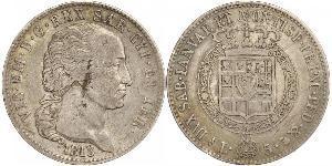 5 Ліра Сардинське королівство (1324 - 1861) Срібло Victor Emmanuel I of Sardinia